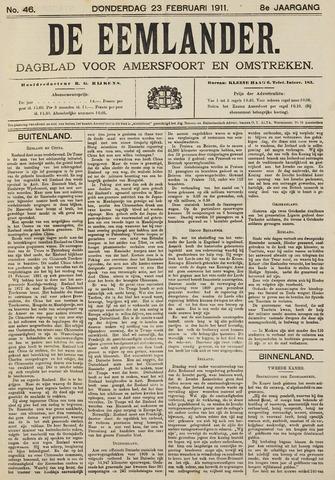 De Eemlander 1911-02-23