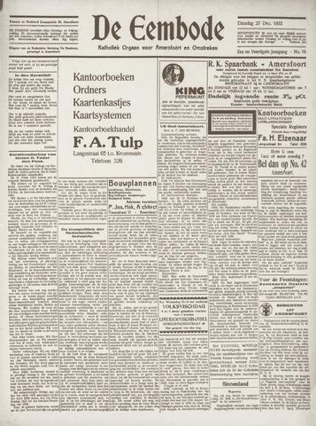 De Eembode 1932-12-27