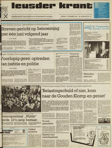 Leusder Krant 1987-11-17
