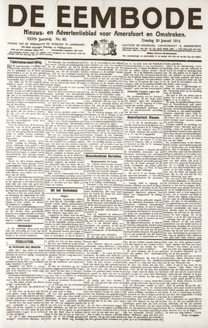 De Eembode 1914-01-20