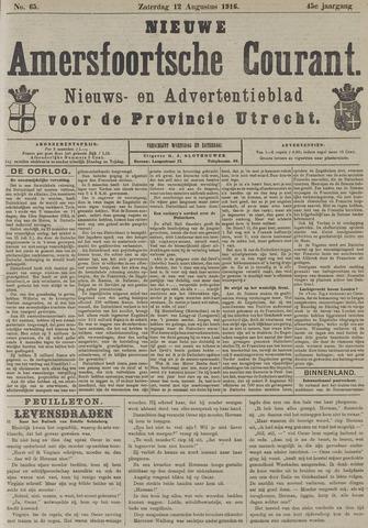 Nieuwe Amersfoortsche Courant 1916-08-12