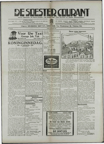Soester Courant 1936-08-28