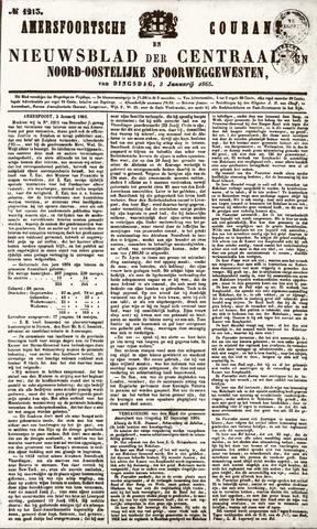 Amersfoortsche Courant 1865