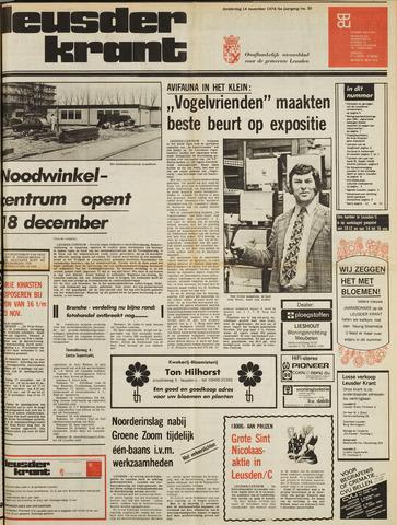 Leusder Krant 1974-11-14