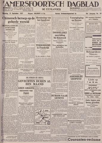 Amersfoortsch Dagblad / De Eemlander 1937-09-13