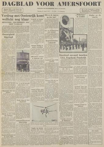 Dagblad voor Amersfoort 1947-04-22