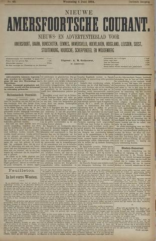 Nieuwe Amersfoortsche Courant 1884-06-04