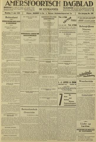 Amersfoortsch Dagblad / De Eemlander 1934-06-11