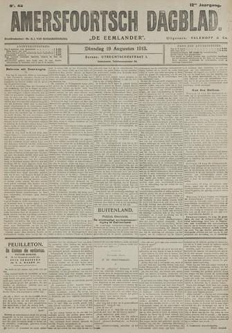Amersfoortsch Dagblad / De Eemlander 1913-08-19