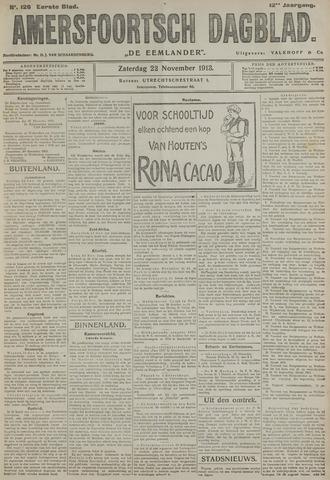 Amersfoortsch Dagblad / De Eemlander 1913-11-22