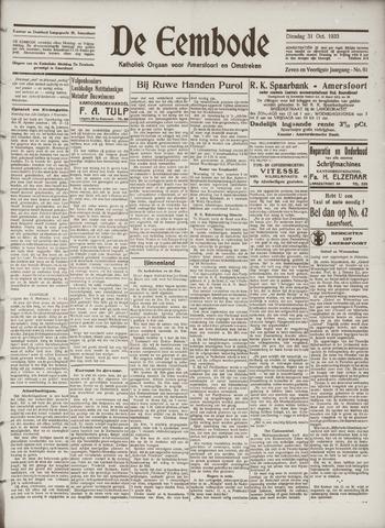 De Eembode 1933-10-31