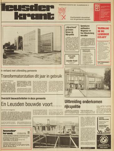 Leusder Krant 1981-08-06