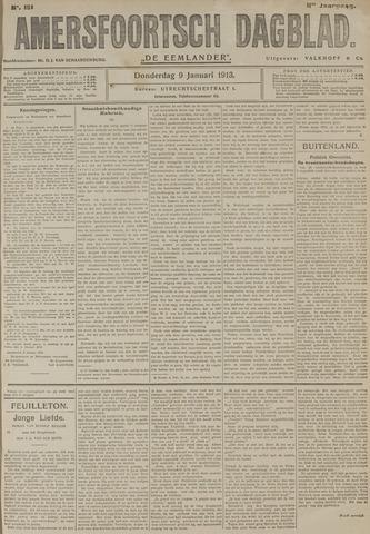 Amersfoortsch Dagblad / De Eemlander 1913-01-09