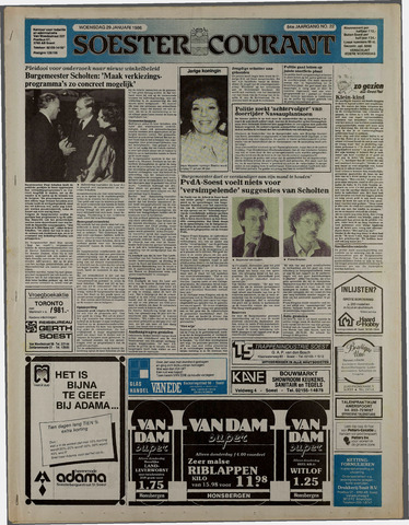 Soester Courant 1986-01-29