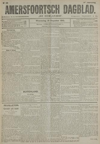 Amersfoortsch Dagblad / De Eemlander 1915-08-18