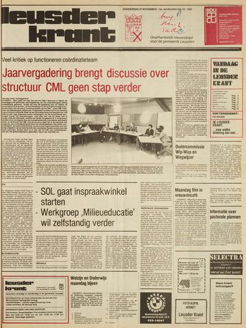 Leusder Krant 1980-11-27