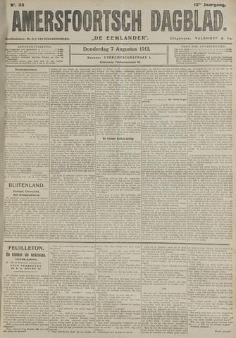 Amersfoortsch Dagblad / De Eemlander 1913-08-07