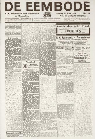 De Eembode 1924-06-17
