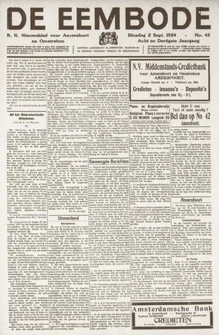 De Eembode 1924-09-02