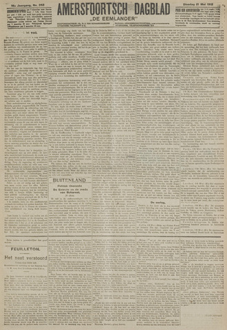 Amersfoortsch Dagblad / De Eemlander 1918-05-21