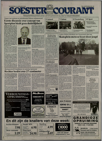 Soester Courant 2000-01-19