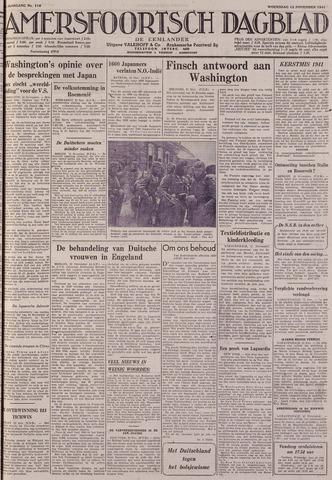 Amersfoortsch Dagblad / De Eemlander 1941-11-12