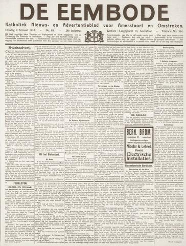 De Eembode 1915-02-09