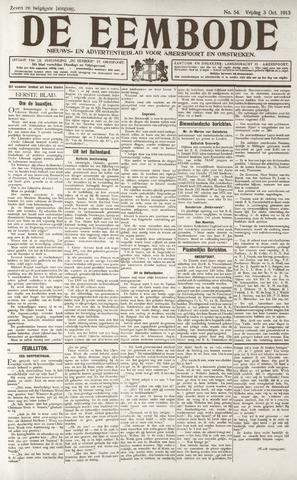 De Eembode 1913-10-03
