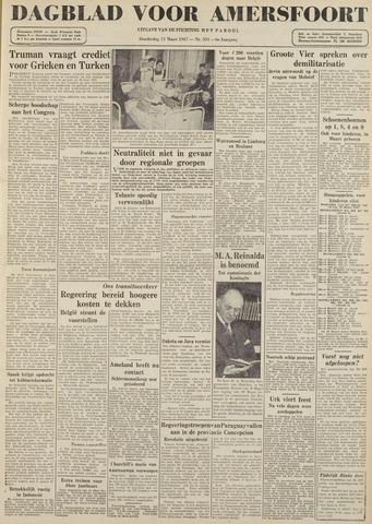Dagblad voor Amersfoort 1947-03-13