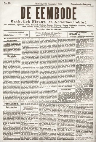 De Eembode 1903-12-24