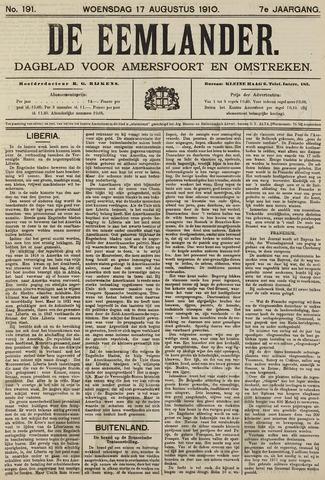 De Eemlander 1910-08-17