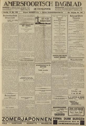 Amersfoortsch Dagblad / De Eemlander 1932-05-28