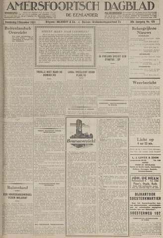 Amersfoortsch Dagblad / De Eemlander 1931-12-03