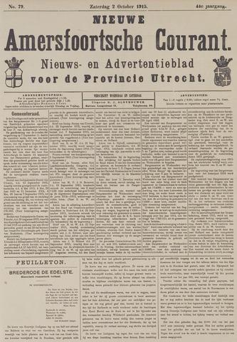 Nieuwe Amersfoortsche Courant 1915-10-02