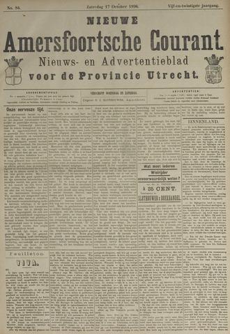 Nieuwe Amersfoortsche Courant 1896-10-17