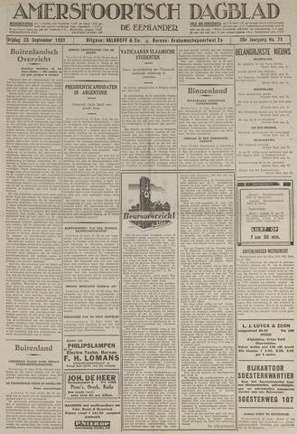 Amersfoortsch Dagblad / De Eemlander 1931-09-25