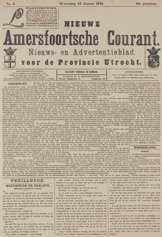 Nieuwe Amersfoortsche Courant 1916-01-19