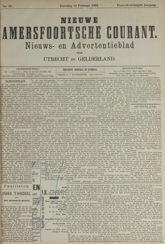 Nieuwe Amersfoortsche Courant 1893-02-11