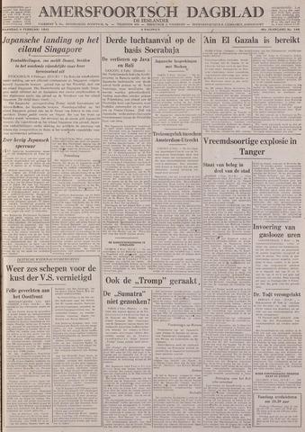 Amersfoortsch Dagblad / De Eemlander 1942-02-09