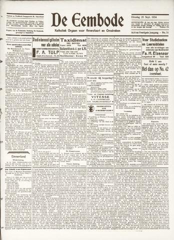 De Eembode 1934-09-25