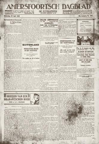 Amersfoortsch Dagblad / De Eemlander 1930-04-23
