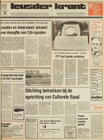 Leusder Krant 1983-10-20