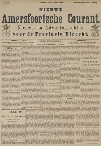Nieuwe Amersfoortsche Courant 1899-11-25
