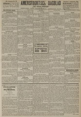 Amersfoortsch Dagblad / De Eemlander 1923-09-17