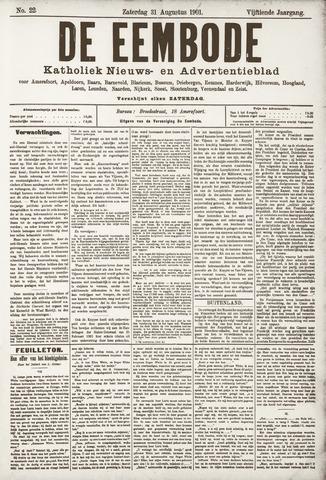 De Eembode 1901-08-31