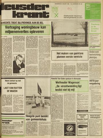 Leusder Krant 1982-03-04