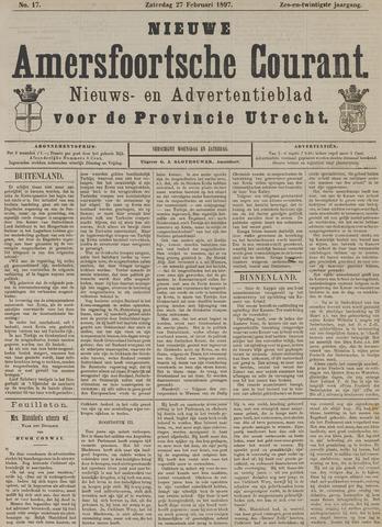 Nieuwe Amersfoortsche Courant 1897-02-27