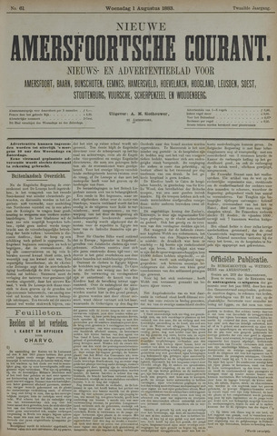 Nieuwe Amersfoortsche Courant 1883-08-01