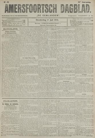 Amersfoortsch Dagblad / De Eemlander 1913-07-17