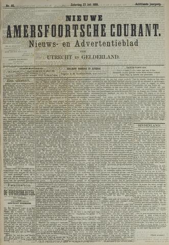 Nieuwe Amersfoortsche Courant 1889-07-27